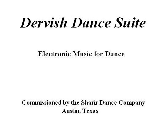 Dervish Dance Suite