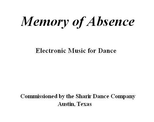 Memory of Absence